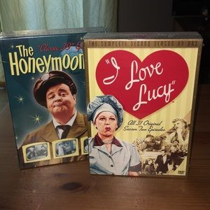 New I Love Lucy and Honeymooners DVD sets